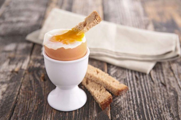 Приготовленное яйцо