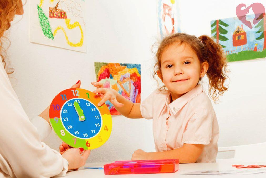 учим ребенка пользоваться часами