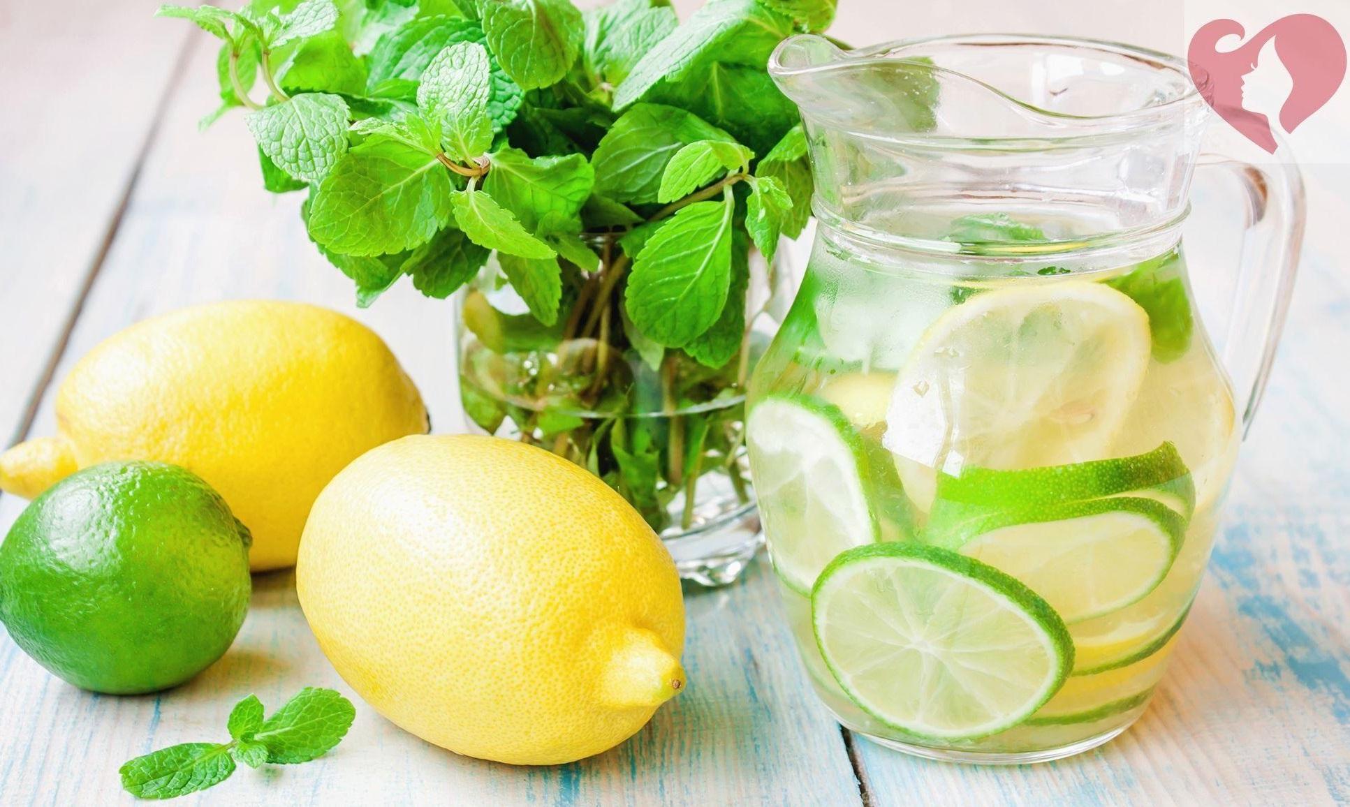 Сок лимона и лайма