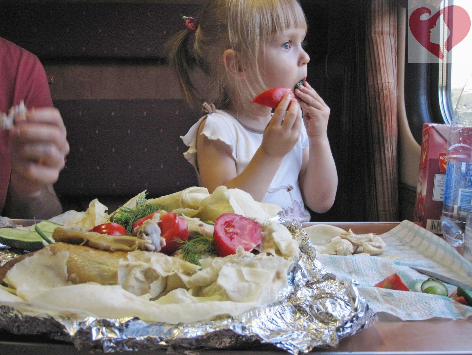 Чем в поезде кормить ребенка