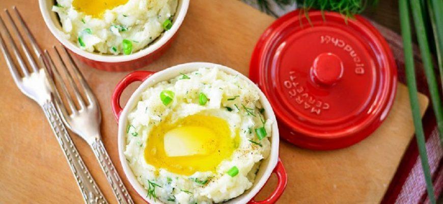 картофельное пюре по-ирландски